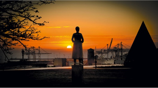Sunrise at the Donkin Reserve
