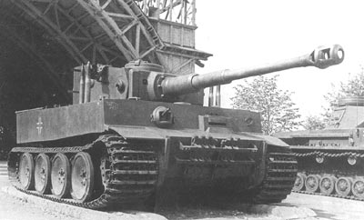 The legendary Tiger 1. In the hands of an ace such as Michael Wittmann it was to prove itself a slayer of Allied tanks.