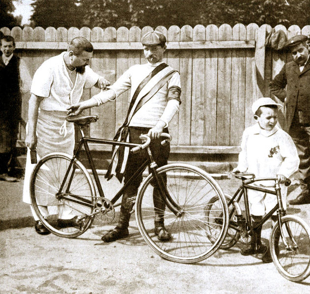 Tour de France 1903. Winner Garin