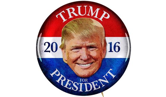 Trump's Campaign Button