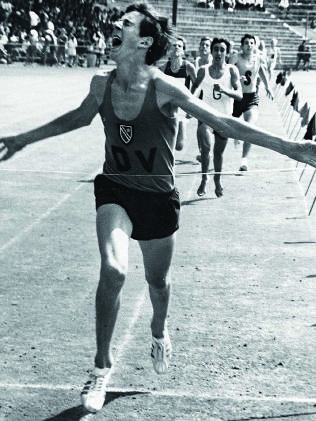 Bob de la Motte, the 1970 U16 Boys 800m champion