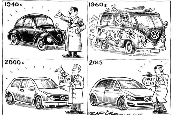 Zapiro on VWs imbroglio