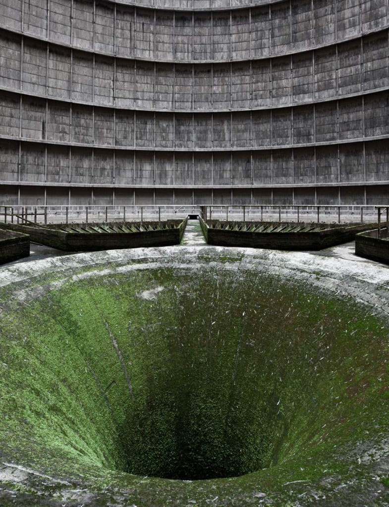 A cooling tower in Belgium