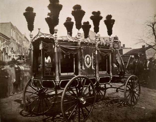 1865. Abraham Lincoln's hearse