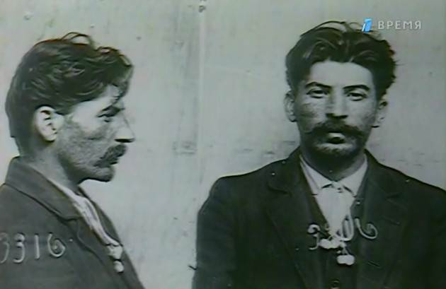 1911. A unique mugshot of young Joseph Stalin