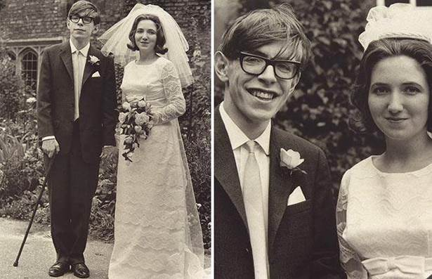 1965. The marriage of Mr. Stephen Hawking