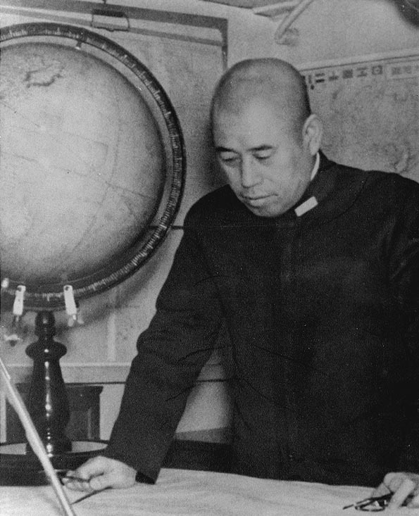 Admiral Isoroku Yamamoto - a brilliant naval strategist but prone to developing overcomplex tactical scenarious