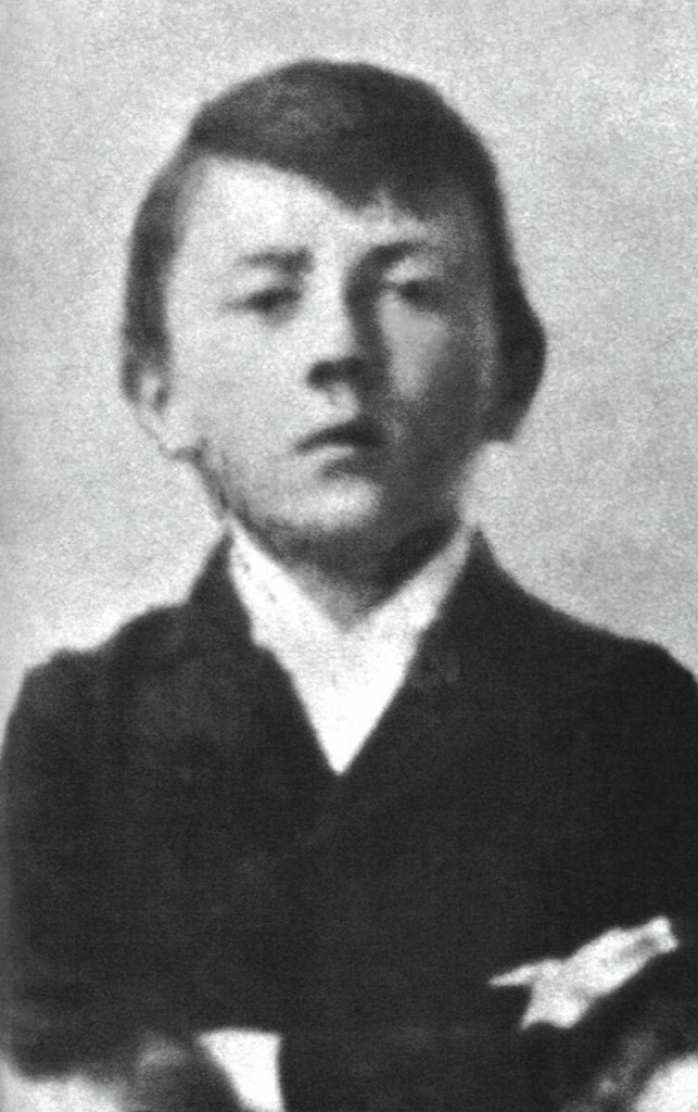 Adolf as a child