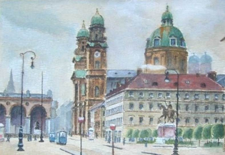 Hitler's paintings#4