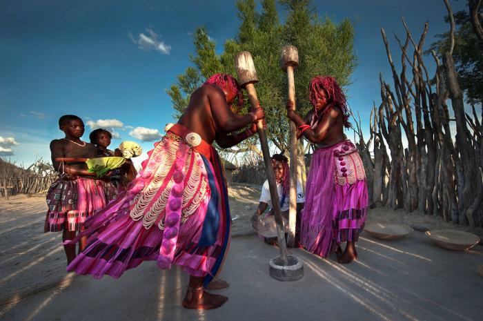 Ovambo women