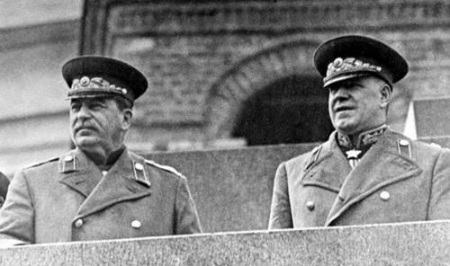 Stalin and Zhukov