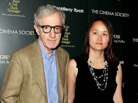Woody Allen and adopted daughter