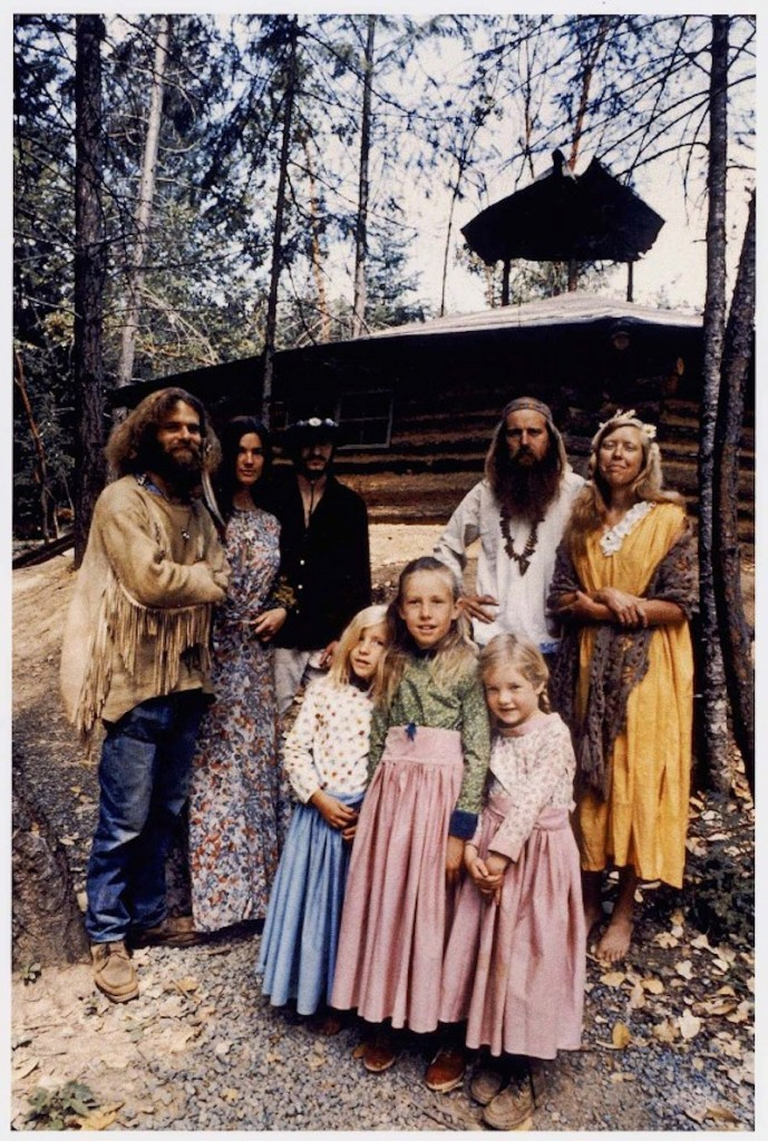 A hippie family portrait