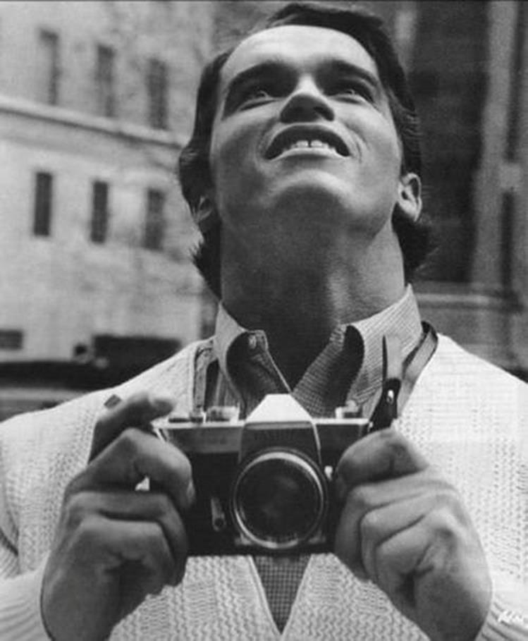 Arnold Schwarzenegger on his first time in New York, 1968