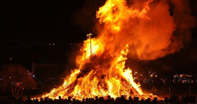 Enormous Bonfire