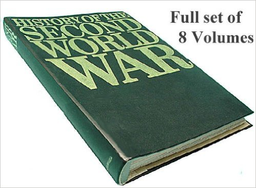 Purnell's History of the Second World War in 8 volumes