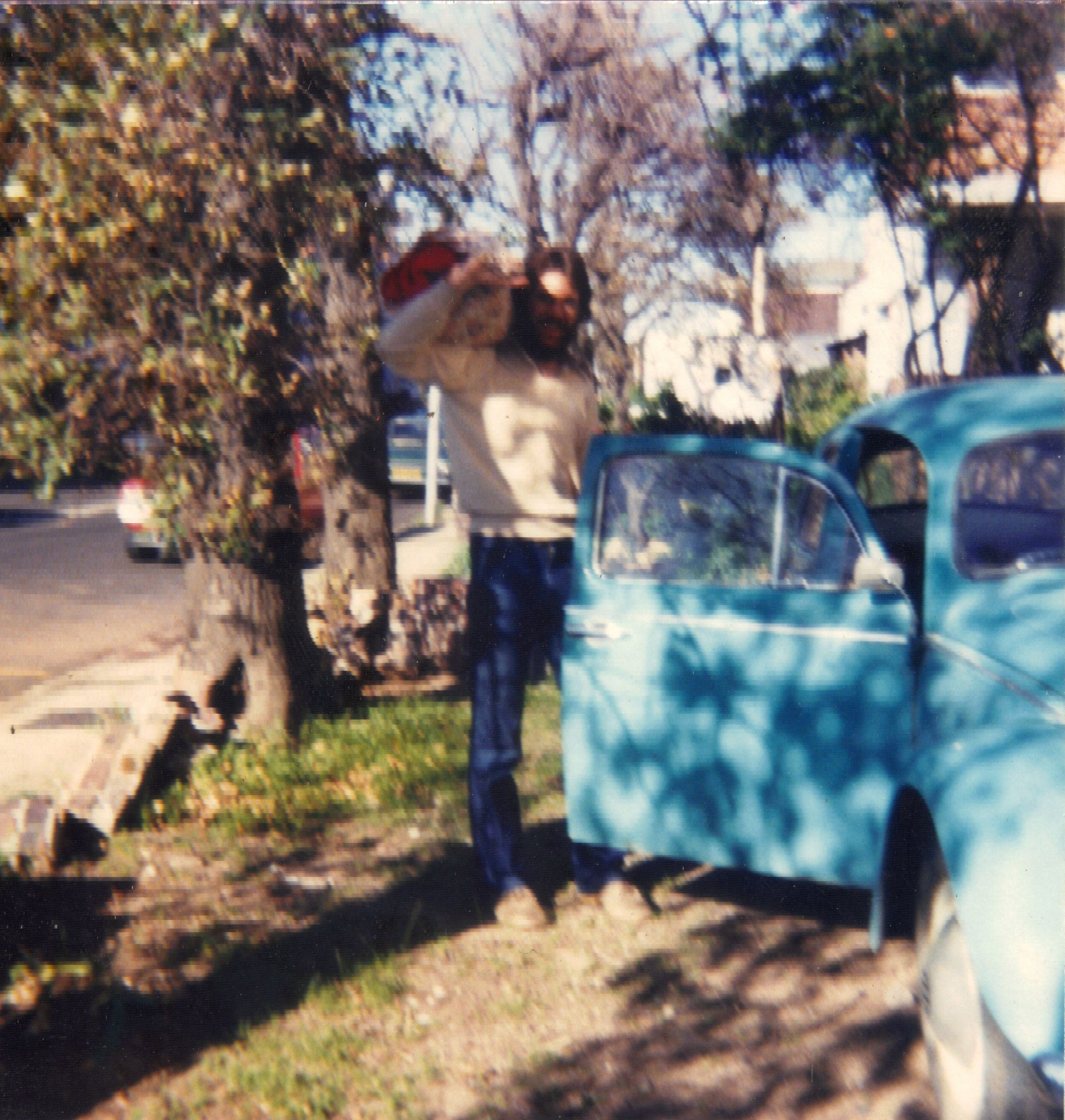 The Beetle that wouldn't die - The only picture of my Beetle – Durban Road, 1980