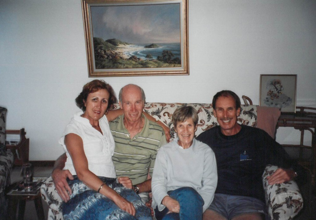 Barry, Eloise, Sue and Peter
