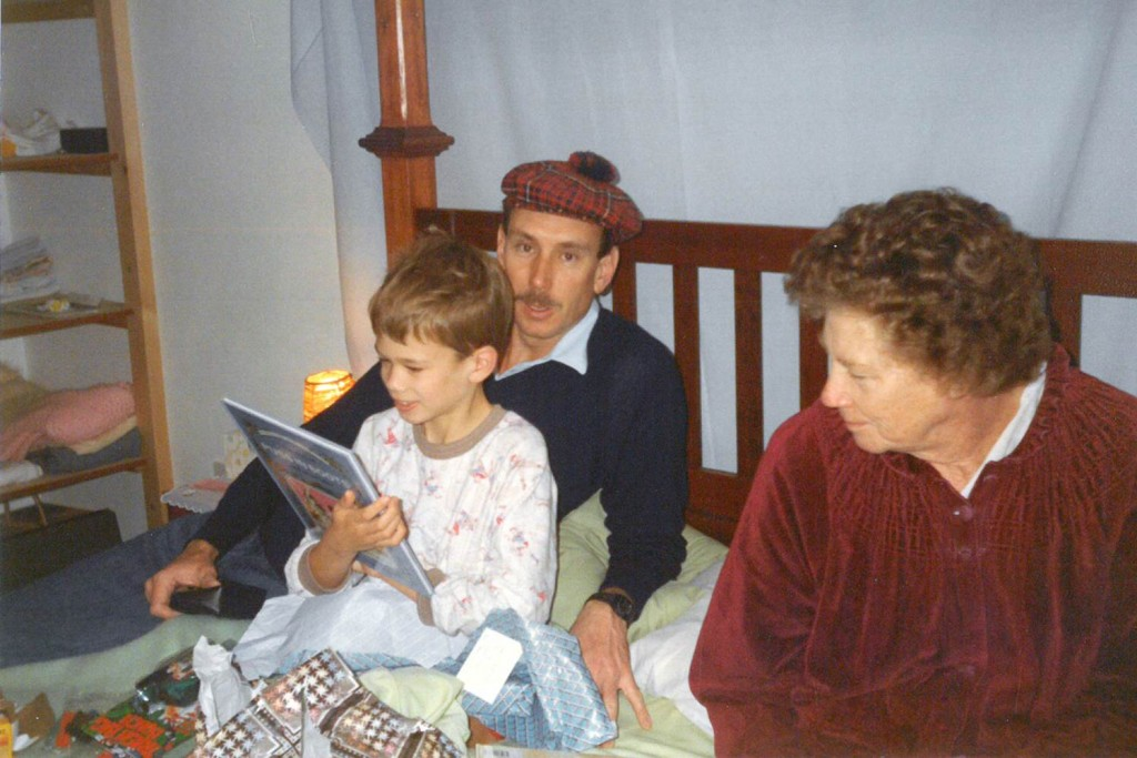 Barry, Mark and Pat Cornish