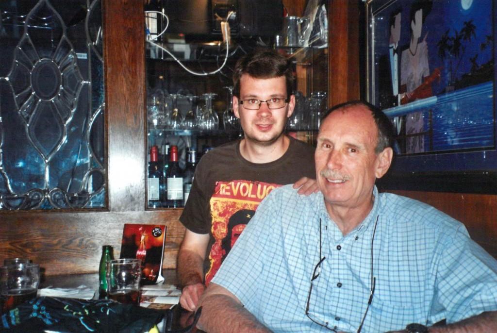 Barry and Mark Cornish