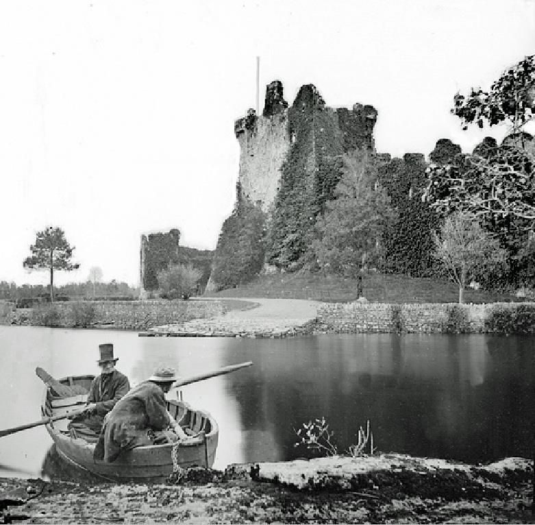 Boatmen at Ross Castle, Killarney