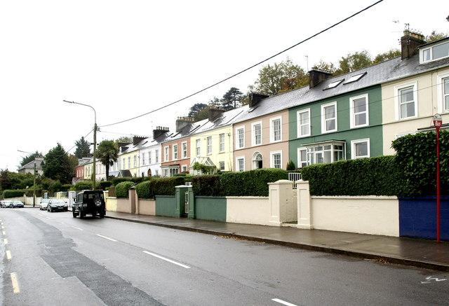 Cork Street, Passage West, the main road