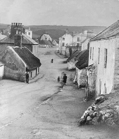 Irish country village
