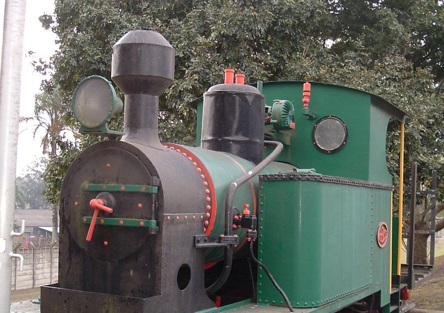 Locomotive at Darnall Sugar Mill