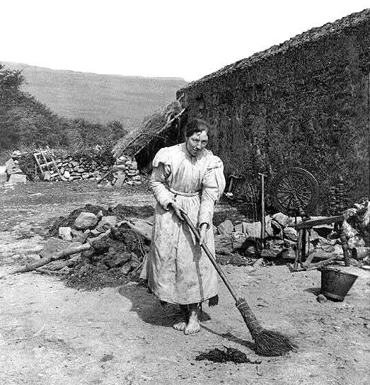 Shoeless Ballycastle housewife