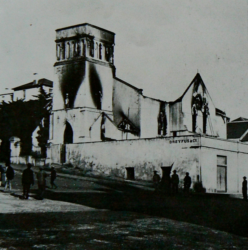 St_Mary's Church Port Elizabeth: After fire damage in 1895