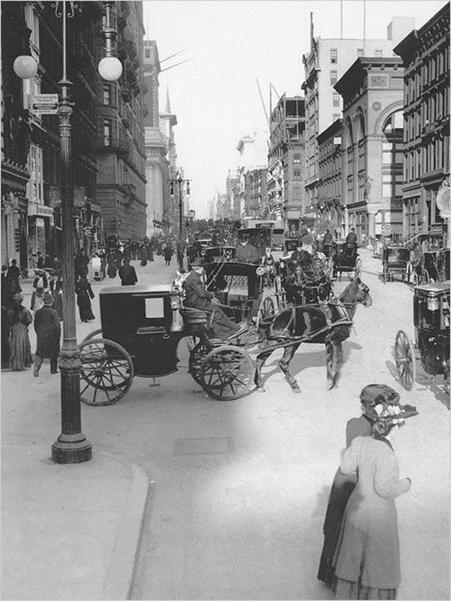 This is what NYC looked like in the late 1800s