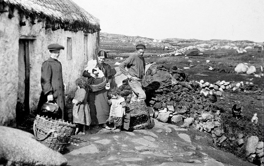 Visiting Nurse on Aran Island