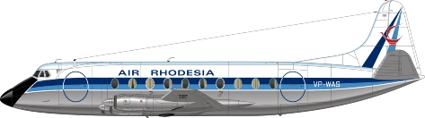 Air Rhodesia Viscount