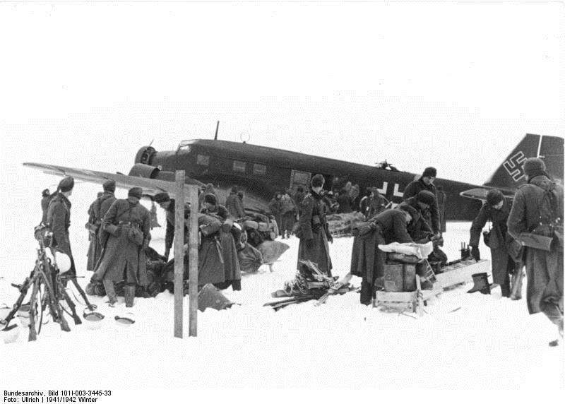Attempted resupply at Stalingrad