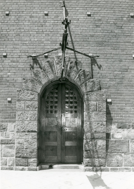 The Entrance Door of the Campanile