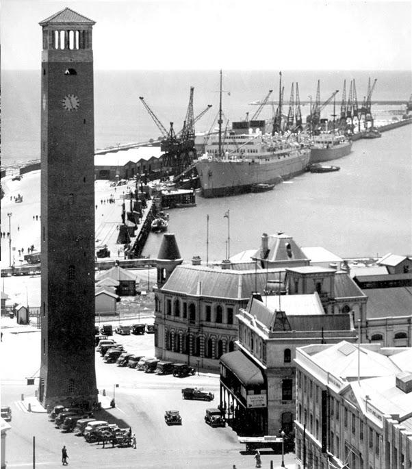 The Campanile in 1940