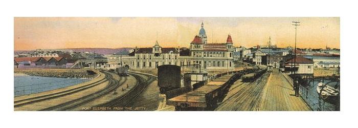 Docklands in 1910