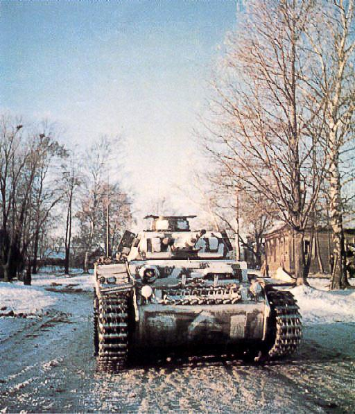 Panzer III in Russia