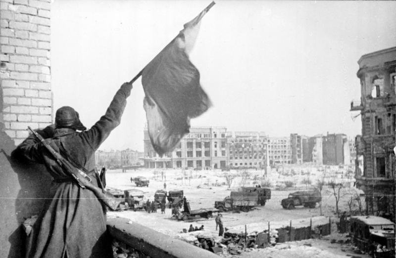 Russian victory at Stalingrad