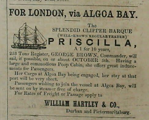 The Ship Priscilla
