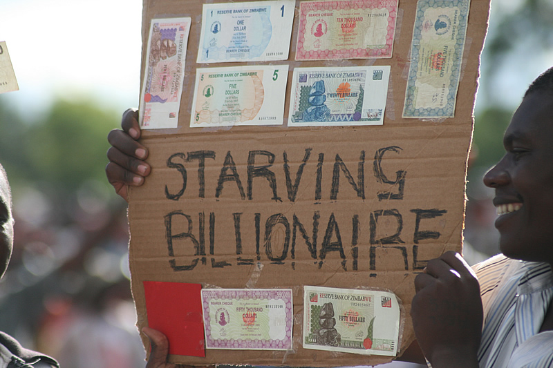 The Starving Billionaire