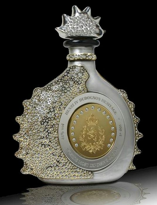 The most expensive Cognac in the world is called Henry IV Dudognon Heritage Cognac Grande Champagne (say that 3 times fast!) and a bottle costs no less than $2 million. That would be about $20,000 per sip.