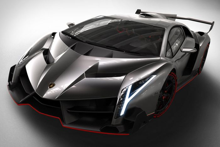The most expensive car in the world, currently, is the Lamborghini Veneno, costing 4.6 million.