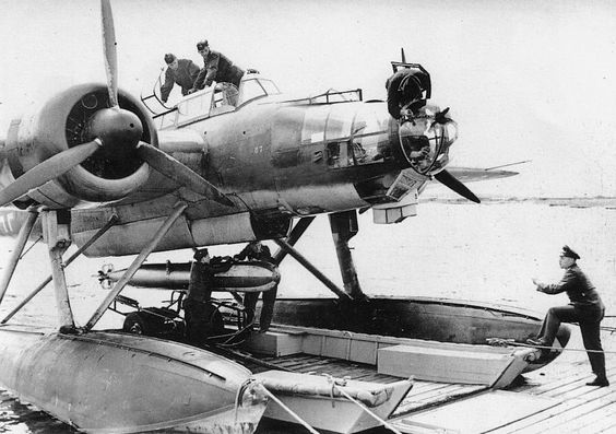 A Heinkel He 115 in 1937, apparently the first prototype