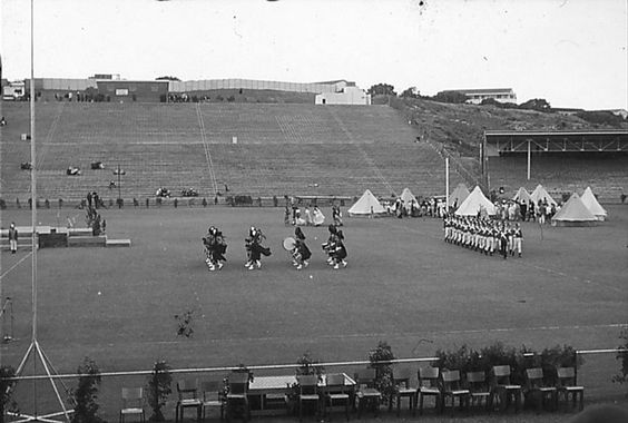 Boet Erasmus Stadium, Port Elizabeth in the early 1960's