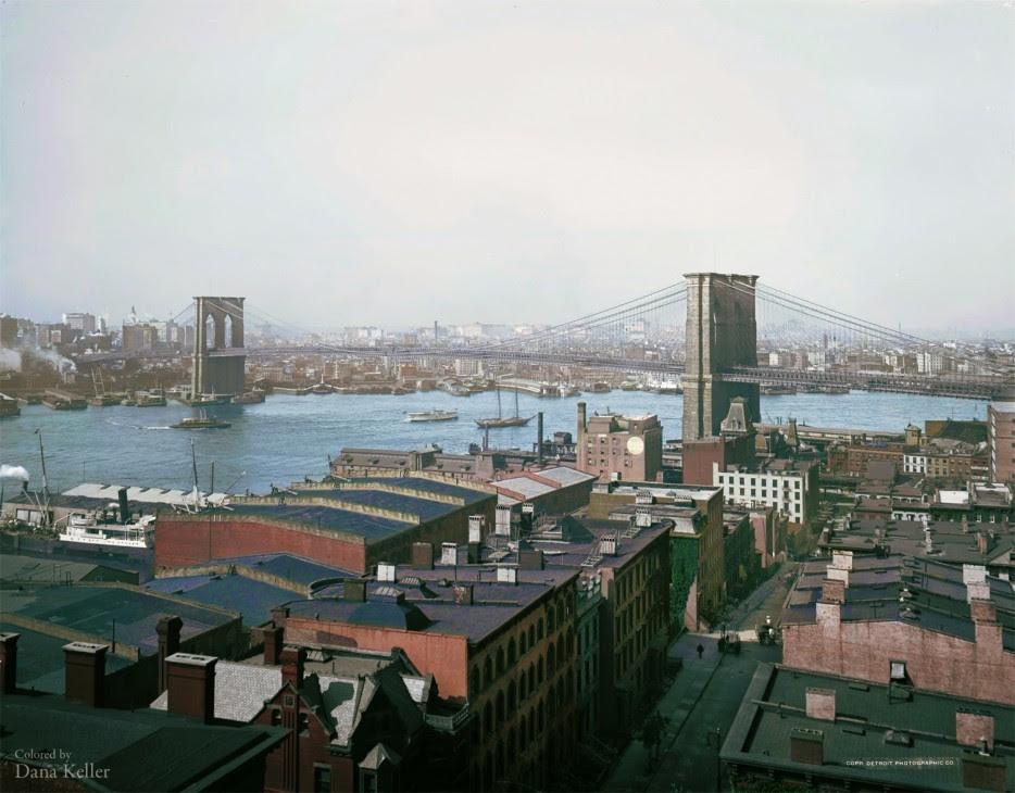 Brooklyn Bridge in 1904