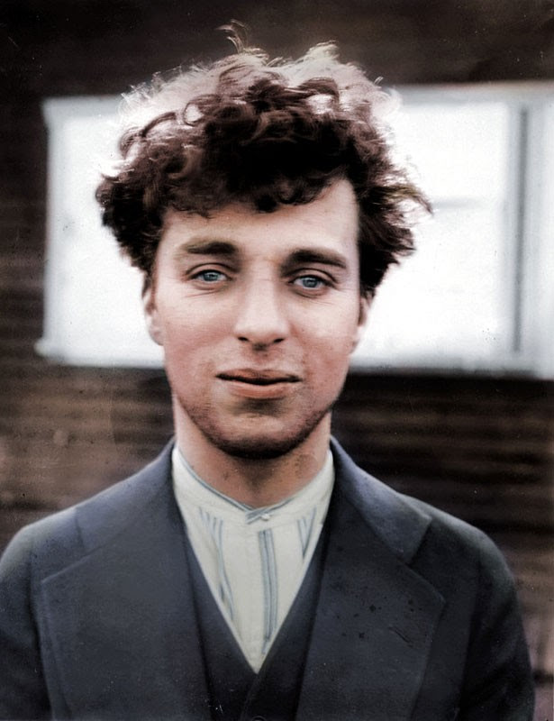 Charlie Chaplin at 27 years old in 1916
