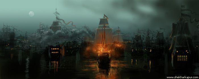 Fire ships