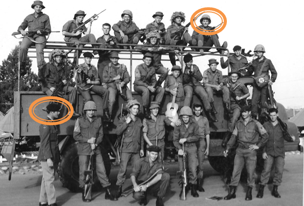 In the Army in 1972 - Top right hand corner-Circled