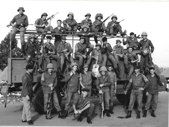 In the Army in 1972 - Top right hand corner-Snipped